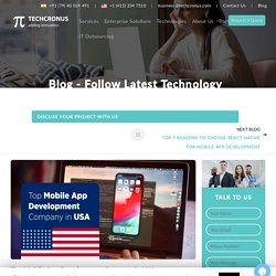 Ranked #1 Top Mobile App Development Company in USA
