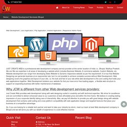 Web Development Company in Bhopal
