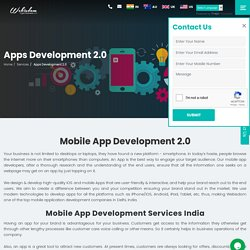 Looking for Mobile App Development Companies in Bangalore - Webisdom