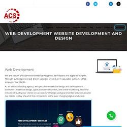 Professional Website Development Services