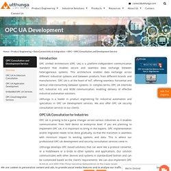 OPC UA Development and Security Consultation
