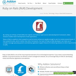 Agile Ruby on Rails Development & Consulting