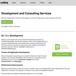 Woboq - Software Development And Consulting Services