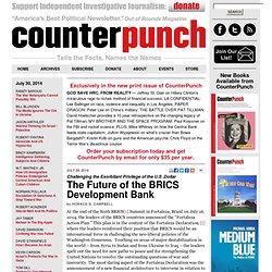The Future of the BRICS Development Bank