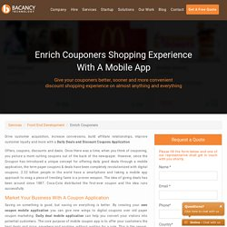 Online Coupon App Development, Deals and Coupons Management App