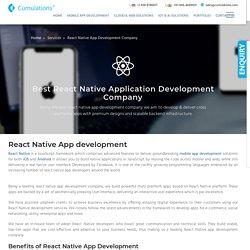 React Native App Development Company