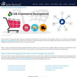OSCommerce Development, OSCommerce Developer, OSCommerce Customization
