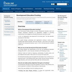 Irish Aid - Grants - Development Education