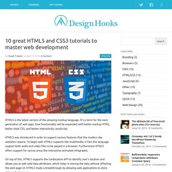 10 great HTML5 and CSS3 tutorials to master web development