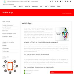 mobile app development lucknow