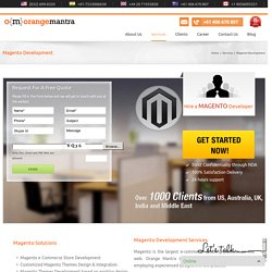 Magento Developers Australia