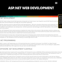 Asp.Net Web Development Company Chiswick - Hire .Net Developers