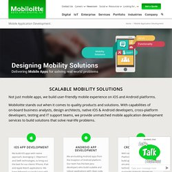 Mobiloitte: The Mobile app development company for iPhone, iPad, Android.