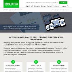 Appcelerator Titanium App Developement Company