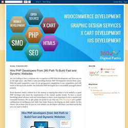 Hire PHP Developers From 360 Path To Build Fast and Dynamic Websites - 360 Digital Paths