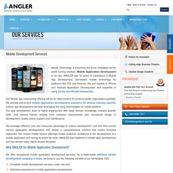 Hire Android & iOS App Developers - ANGLER