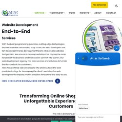 Hire Dedicated eCommerce Developers