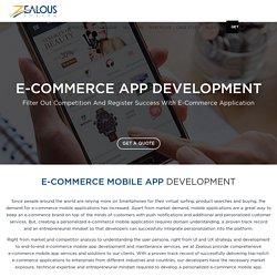Hire eCommerce App Developers