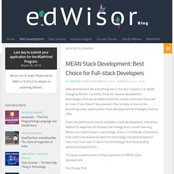 MEAN Stack Development: Best Choice for Full-stack Developers