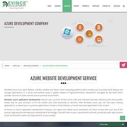 Azure Development - Azure Developers By Evince Development