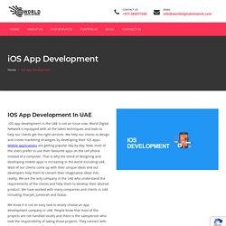 IOS App Development In UAE