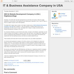 IT & Business Assistance Company in USA: SEO & Website Development Company in USA