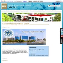 Halal Industry Development Corporation - Labuan Distributive Hub, Sabah