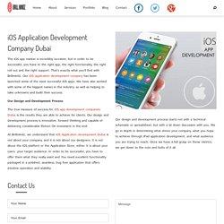 Ios App Development company Dubai - dubaibrillmindz