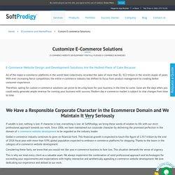 E-commerce Website Design, Development Services