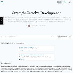 Strategic Creative Development · edwardboches
