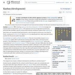 Kanban (development)