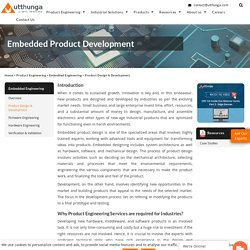 Embedded Product Engineering Services