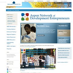 Aspen Network of Development Entrepreneurs