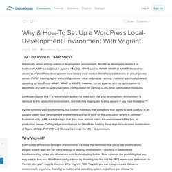 Why & How-To Set Up a WordPress Local-Development Environment With Vagrant