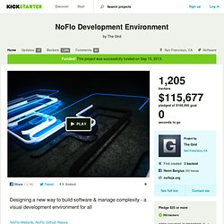 NoFlo Development Environment by The Grid
