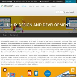 UI UX Design and Development Services