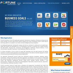 Web Development Company Brisbane