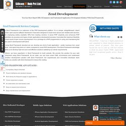 PHP Zend Web development, Zend Framework Development services.