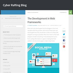 The Development in Web Frameworks