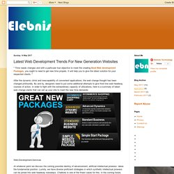 Custom Website Design: Latest Web Development Trends For New Generation Websites