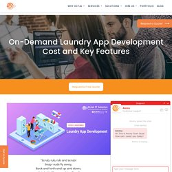 On Demand Laundry App Development Cost & Important Features