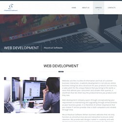Web Development Company - iNautical Software