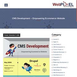 CMS Development - Empowering Ecommerce Website