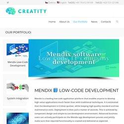 Mendix Low-Code Development - Creatity s.r.o. - innovative IT company