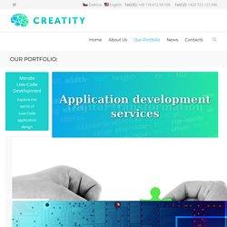 Custom Development - Creatity s.r.o. - innovative IT company