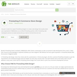 PrestaShop Designer, Web Development, Theme Installation
