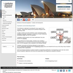 www.istructe.org - Careers and development - The Institution of Structural Engineers