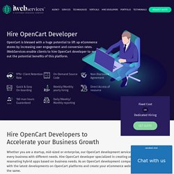 Hire OpenCart Developers for Android Apps
