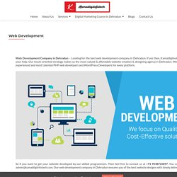 Web Development Company in Dehradun Uttarakhand