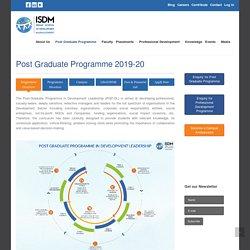 PG Program in Development Leadership, Social development, CSR and NGO Management courses